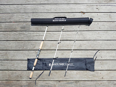 White Tiger Spinning Rod - 3pce 3-5kg 1.8 meters
