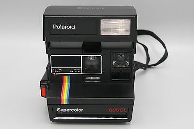 Vintage Polaroid Supercolor 635CL Instant Film Camera Tested and Working