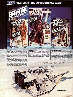 Collectable 1981 Mpc Model Kits Catalogue - Star Wars