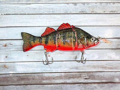 OBT Swimbait Lure Red Belly Perch