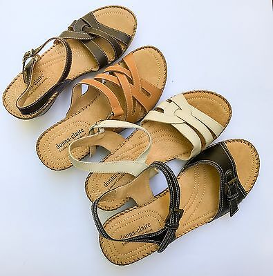 New ladies Leather sandals 10 Pair Wholesale