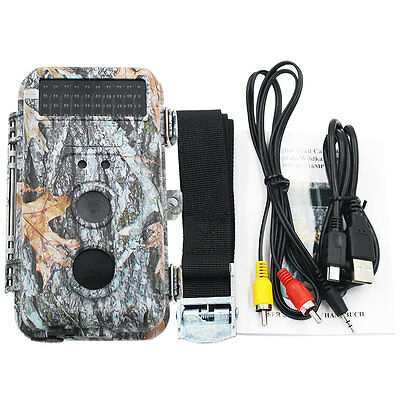 16MP HD Game & Trail Camera Low Glow Scouting Activated Waterproof With Night
