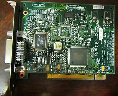 National Instruments PCI-GPIB 183617C-01 NI-488.2 NT Interface Adapter Card