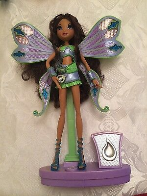 winx Sing and Sparkle Layla mattel Puppe Barbie