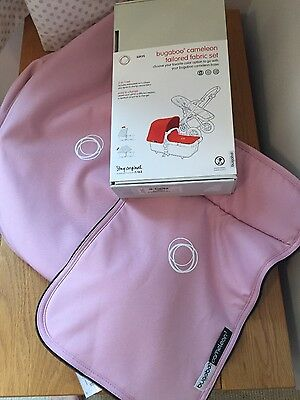 bugaboo cameleon soft pink hood and apron