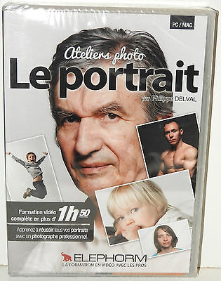 DVD ELEPHORM Atelier photo : le portrait - Neuf