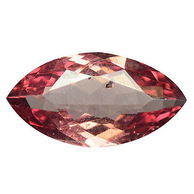 1.30 ct HUGE UNIQUE RARE NATURAL FROM EARTH MINED PINKISH RED MALAYA GARNET