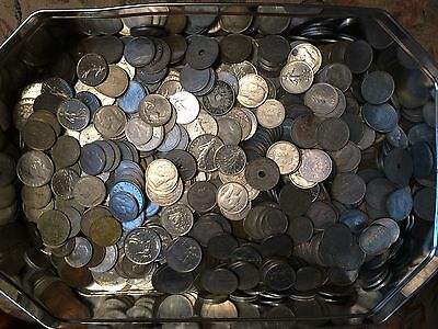 Over 4.5kg Foreign coins