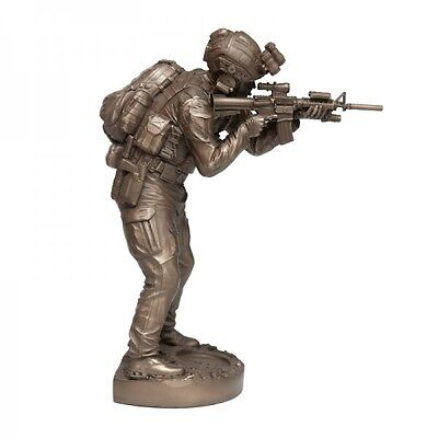 Platatac Naked Army SF Operator Tier 1 Special Forces Cold Cast Bronze Figurine