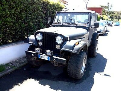 CJ5 tre marce