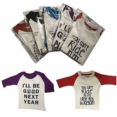 Infant,Toddler,Baby,Kids,Unisex Cotton Casual Raglan 3/4 Sleeve T-Shirt 0m-6y
