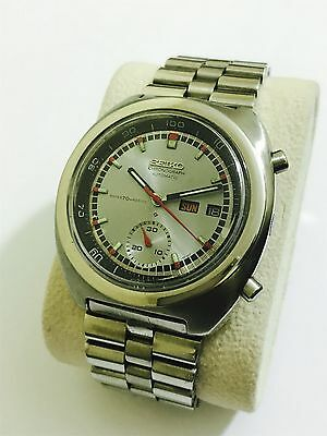Vintage Seiko Automatic Chronograph Day/date Men Nice Watch