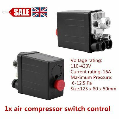1/10/20/80PCS Air Compressor Switch Control Knob switch Valve 90 PSI -120 PSI SA