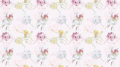 FAIRY PINK   100% COTTON FABRIC /METER /160cm WIDE !!!