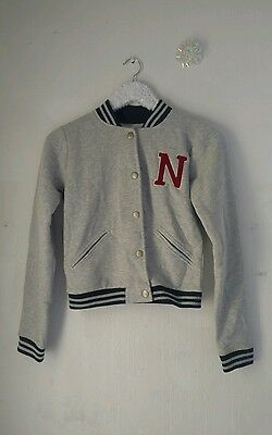 New Look size 8 varsity style N initialled jacket