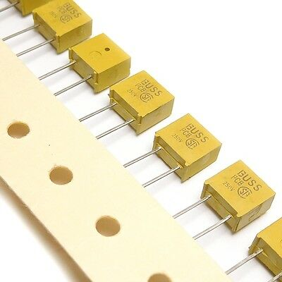[5pcs] PCB-3 PC-TRON Subminiature Fast Fuses 3A 250V BY_PCB COOPER_BUSSMANN