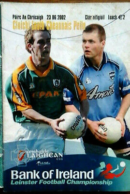 Meath V Dublin 23/6/2002 Gaa Leinster Senior Football Semi Final
