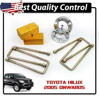 "NEW Fully 2"" Front + Rear 4x4 Leveling Lift Kits Suit Toyota Hilux SR5 SR6 2005+"