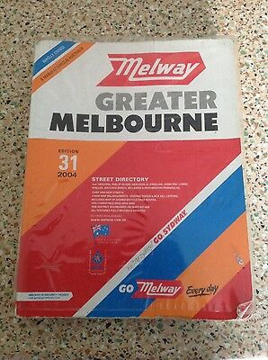 Melway Greater Melbourne Street Directory - Edition 31 - 2004