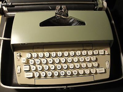 Smith Corona Coronet Super 12 Electric Typewriter With Travel Case Tested Works