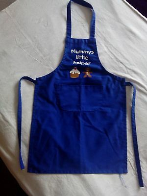 childs cooking apron