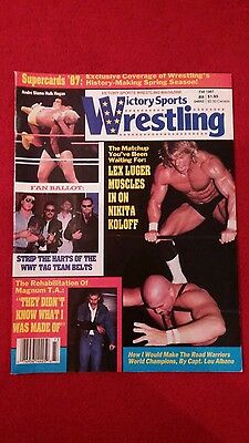 Victory Sports Wrestling Magazine Fall 1987 Supercards 87.