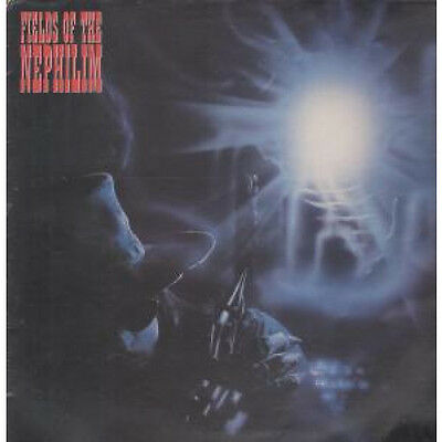 """FIELDS OF THE NEPHILIM Blue Water 12"""" VINYL 3 Track Electrostatic B/w In Every"""