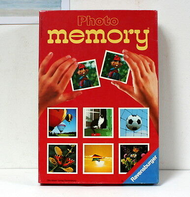 Photo memory Ravensburger vintage 1979