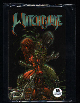 Witchblade Phone Card Dynamic Forces 1997 Top Cow 1 of only 250 TURNER NEW MINT