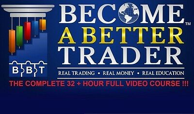 Become a Better Trader - Rob Hoffman 32 Hour Forex Trading Course + 2 Bonuses