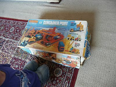 Matchbox Container port Playset classic 1970s toy in original packaging