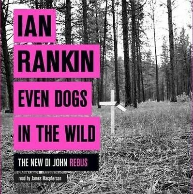 John Rankin-Even Dogs In The Wild-9 Cd Audio Book  Brand  New Sealed
