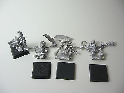 4 Confrontation Goblins No-Dan-Kar Goblin Mutant Xherus Sea Scum Gunner Metall
