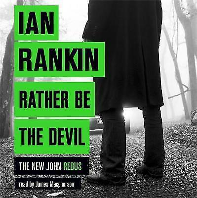 John Rankin-Rather Be The Devil-9 Cd Audio Book  Brand  New Sealed