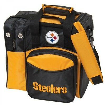 KR NFL Bowling bag Pittsburgh Steelers 1 Ball Single Tote bag
