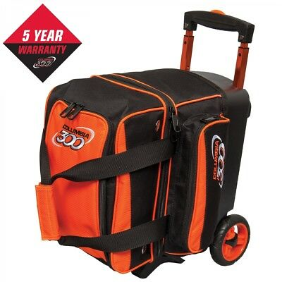 Columbia 300 Bowling Bag Icon 1 Ball Single Scooter Orange