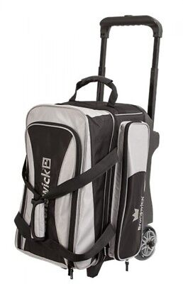Brunswick ick Bowling bag Crown 2 Ball Scooter Silver