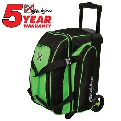 KR Bowling bag Colors 2 Ball Scooter Lime Double Roller