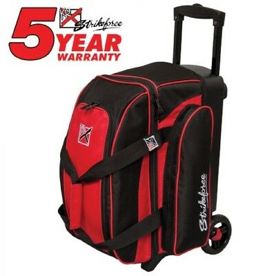 KR Bowling bag Colors 2 Ball Scooter Red Double Roller