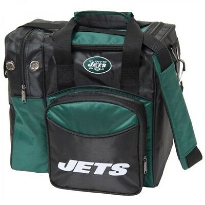KR NFL Bowling bag New York Jets 1 Ball Single Tote bag