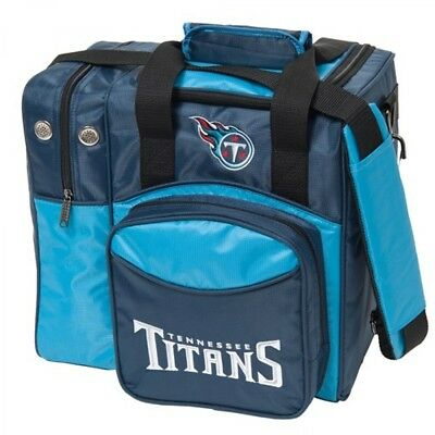 KR NFL Bowling bag Tennessee Titans 1 Ball Single Tote bag