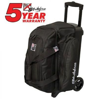 KR Bowling bag Colors 2 Ball Scooter Black Double Roller