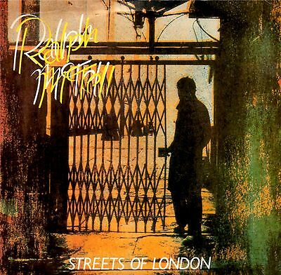 """Ralph McTell - Streets Of London - Picture Sleeve 7"""" 1980 REPRISE"""