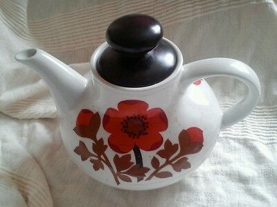 Alfred Meakin PIMPERNEL 60s /70s Teapot in used condition