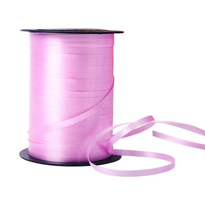Balloon Colour Curling Ribbon Wedding Birthday Gift Favour Party 225m / Pink