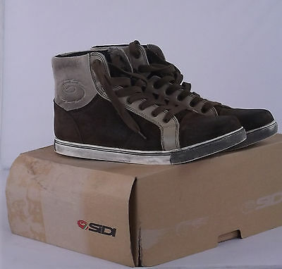 Sidi Insider Urban – Motorcycle MotorBike Casual Leather Boots Shoes – SIZE: 9.5
