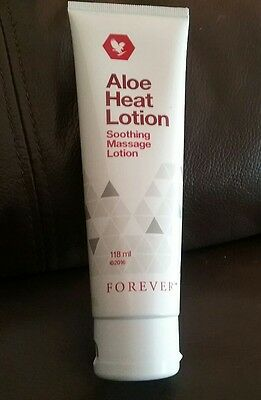 Forever Aloe Heat Lotion 118ml New & Sealed
