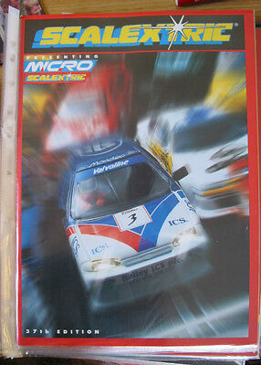SCALEXTRIC  CATALOGUE 37TH   EDITION 1996 C523  excellent condition