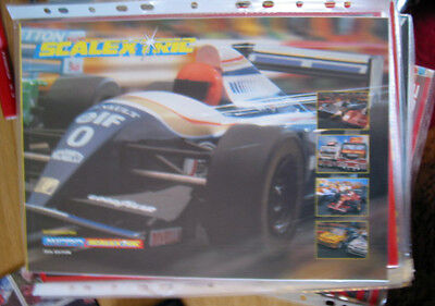SCALEXTRIC  CATALOGUE 38TH   EDITION 1997  excellent condition