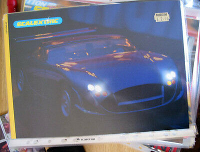 SCALEXTRIC  CATALOGUE 40TH   EDITION 1999 excellent condition